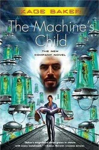 The Machine's Child - First edition hardback cover, 2006