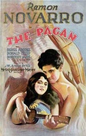 The Pagan - 1929 lobby poster