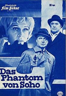 <i>The Phantom of Soho</i> 1964 film