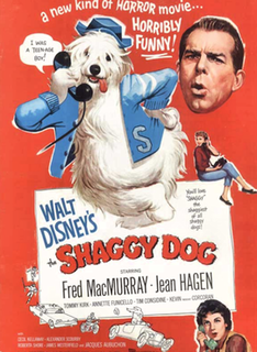 <i>The Shaggy Dog</i> (1959 film) 1959 film by Charles Barton
