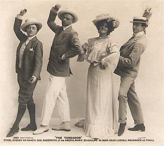 James T. Tanner - Scene from The Toreador
