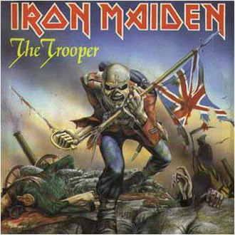 The Trooper - Image: The Trooper song cover