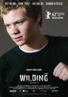<i>The Wilding</i> 2012 Australian film directed by Grant Scicluna