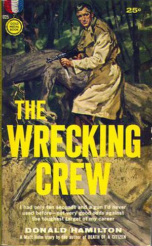 The Wrecking Crew (novel) - The paperback version's original cover.