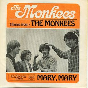 (Theme From) The Monkees - Image: Theme From The Monkees cover