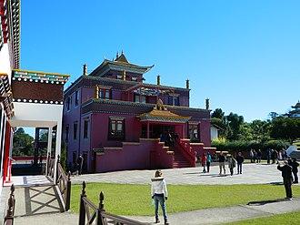 Buddhism in Brazil - Tibetan Buddhist temple in Três Coroas, Rio Grande do Sul.