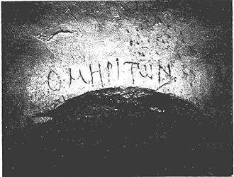 Benjamin Mazar - Tomb of Himyarite, in Greek uncials