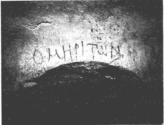 Tomb Inscription of Himyarite buried in Beit She'arim National Park (Israel)
