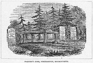 David Brainerd - Brainerd's tomb in Northampton, Massachusetts.