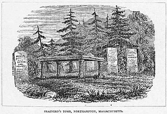 David Brainerd - Brainerd's tomb in Northampton, Massachusetts.