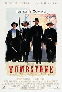 <i>Tombstone</i> (film) 1993 film by George P. Cosmatos, Kevin Jarre