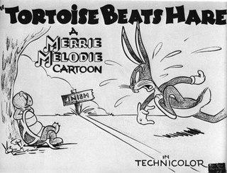 <i>Tortoise Beats Hare</i> 1941 Bugs Bunny cartoon