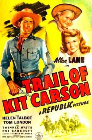Trail of Kit Carson - Theatrical release poster