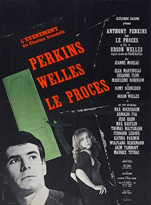 The Trial (1962 film) - French theatrical release poster (1962)