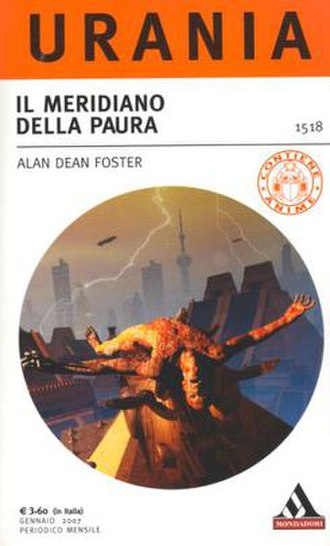 Urania (magazine) - Cover for a number of Urania, featuring Alan Dean Foster's The Mocking Program.