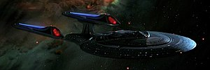 USS Enterprise (NCC-1701-E) - The Enterprise-E in Star Trek: First Contact