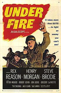 <i>Under Fire</i> (1957 film) 1957 film by James B. Clark