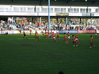 Wales national rugby league team - Wales played Papua New Guinea on the Kumuls tour of Europe. The match finished 50–10 in favour of Wales.
