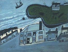 The Hold House Port Mear Square Island Porthmear Beach, circa 1932, Tate Gallery.