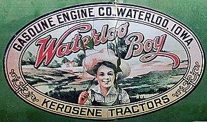 Waterloo Gasoline Engine Company - 1917 Waterloo Boy logo.