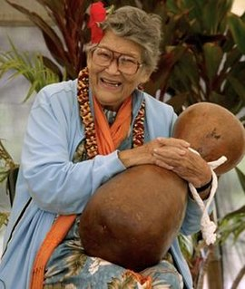 Winona Beamer A performer and teacher of Hawaiian hula, storytelling, and music, and a proponent of Hawaiian culture, herself being of Hawaiian ancestry