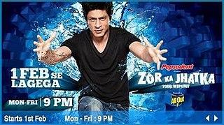 <i>Zor Ka Jhatka: Total Wipeout</i> television series