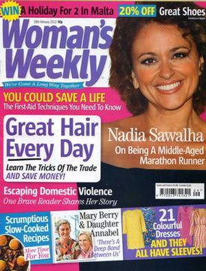 Woman's Weekly (UK magazine) - 28 February 2012 cover of Woman's Weekly