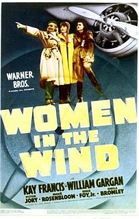 <i>Women in the Wind</i> 1939 film directed by John Farrow
