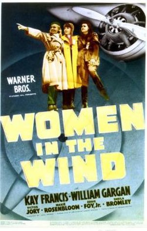 Women in the Wind - Theatrical film poster