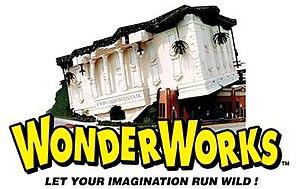 WonderWorks (museum) - Image: Wwo logo bldg 2010 cmyk h 1