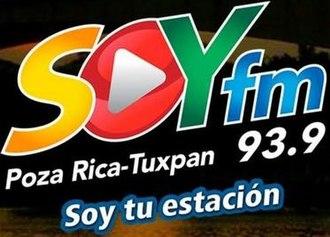 XHTXA-FM - Image: XHXTA Soyfm 93.9 logo