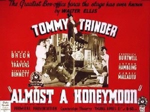"""Almost a Honeymoon (1938 film) - Image: """"Almost a Honeymoon"""" (1938)"""