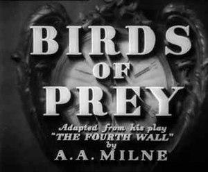 """Birds of Prey (1930 film) - Image: """"Birds of Prey"""" (1930 film)"""