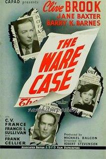 <i>The Ware Case</i> (1938 film) 1938 film by Robert Stevenson
