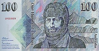 Australian one-hundred-dollar note Current denomination of Australian currency