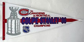 1986 Stanley Cup Finals - Image: 1986 Stanley Cup Flag