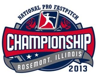 2013 National Pro Fastpitch season - Image: 2013 NPF Championship