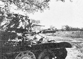 29th Tank Corps - T-34s of the corps in start positions during the Battle of Prokhorovka