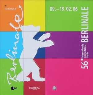 56th Berlin International Film Festival - Festival poster