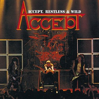Restless and Wild - Image: Accept restless and wild 2