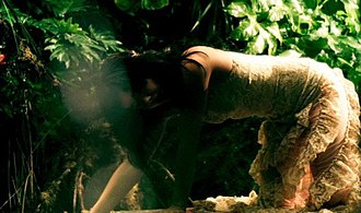 Alarm Call - Björk in the jungle in the Alarm Call music video.