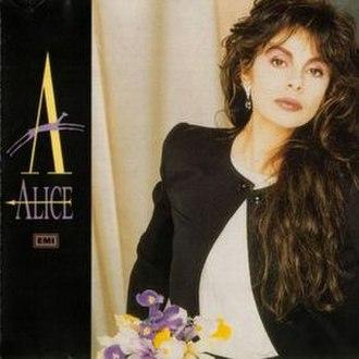 Alice (1986 album) - Image: Alice Alice (1986 compilation)