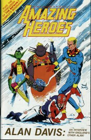 Alan Davis - Amazing Heroes cover by Alan Davis.