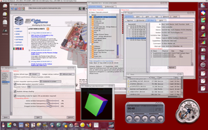 Compositing window manager - Alpha blending in Amiga OS 4.1