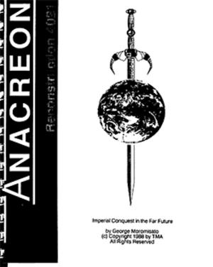 Anacreon: Reconstruction 4021 - Image: Anacreon Reconstruction 4021 Coverart