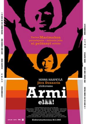 Armi elää! - Theatrical poster