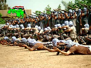 Army of the Men of the Naqshbandi Order - Fighters belonging to the Order.