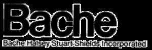 Bache & Co. - Image: Bache & Co. logo
