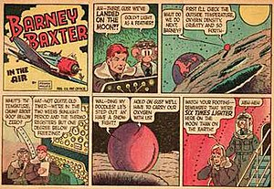 Barney Baxter - Frank Miller's Barney Baxter in the Air