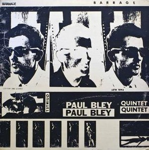 Barrage (Paul Bley album) - Image: Barrage (Paul Bley album)